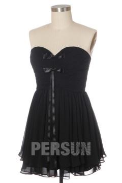 Solde robe de cocktail noire taille 42