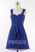 Solde robe de cocktail bleu roi taille 42