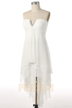 Solde robe de bal blanche taille 46