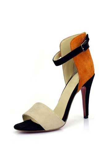 Ravel Colour Block Suede Sandal