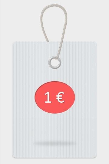 1 € come supplemento