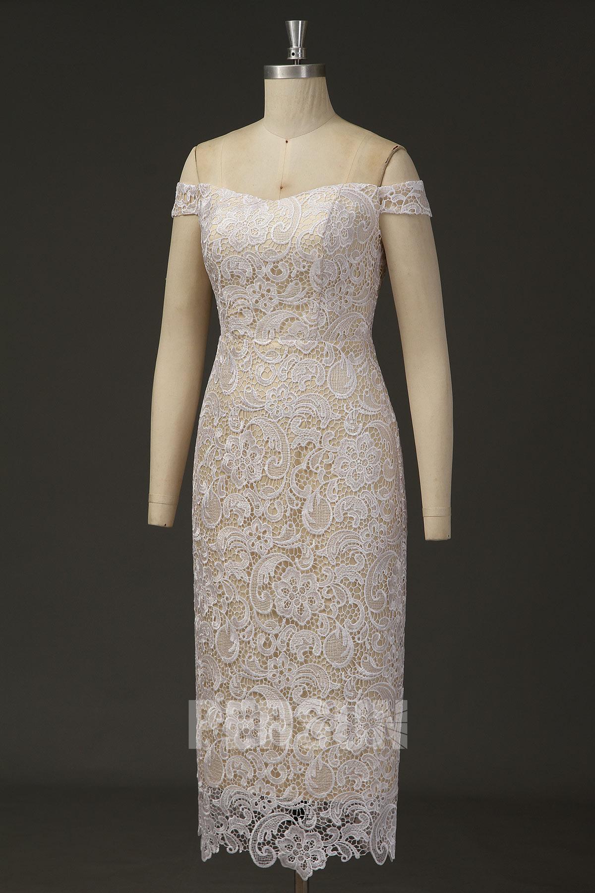 floral lace guipure for elegant 2019 coctail dress uk