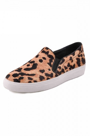 Casual Must-have Leopard Love Plimsolls