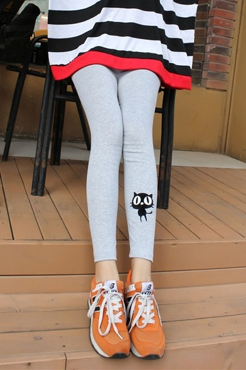 Cute Kitty Candy Color  Legging