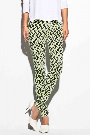 Neon Color Fun Geo Print Leggings