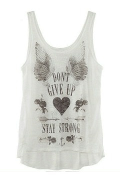 Wings Heart Cotton Vest