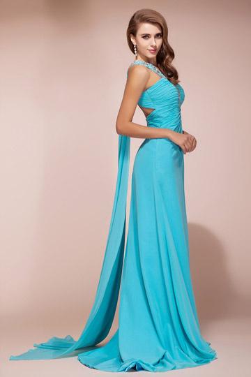 robes l gantes france robe de soiree bleu turquoise. Black Bedroom Furniture Sets. Home Design Ideas