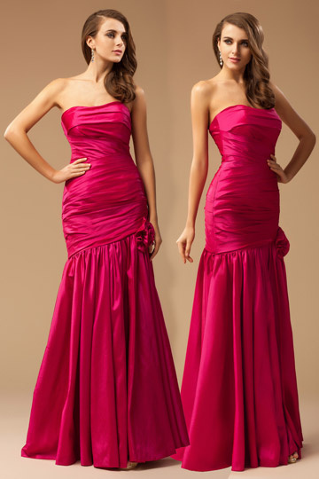 Dressesmall Enthralling Appliques Off Shoulder Satin Sheath School Formal Dress