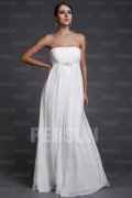 Sheath Strapless High Waist Long Prom / Evening Dress