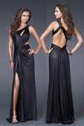 2013 New One Shoulder Slit Front Prom/Cocktail Dress