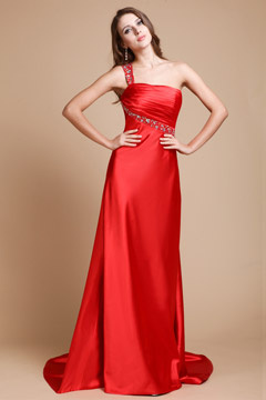 Gorgeous Croydon Red Cut Out Back UK Prom Dress