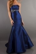 Strapless Beaded Mermaid Prom/Evening Dress