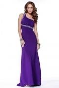 Dagenham Elegant Asymmetric One Shoulder Beading Prom Dress