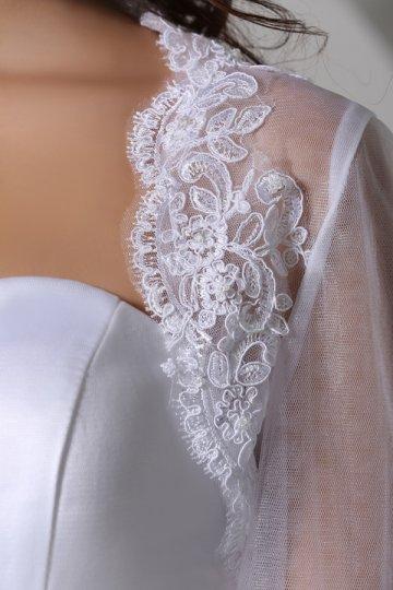 Cheap Sweetheart Beaded High Waist Vintage Wedding Dress - PERSUN