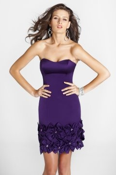 Framlingham Sheath Purple Cocktail Dress