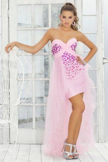 dressesmallau short skirt with sheer overlay formal dress