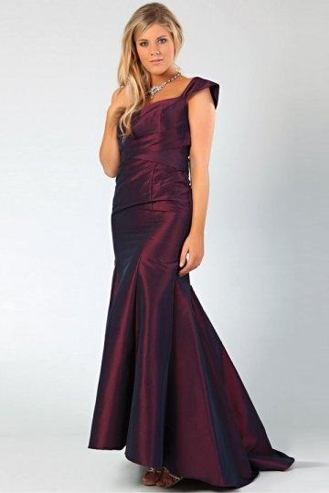 meerjungfrau cap rmel ballkleid abendkleid aus taft 875 abendkleider online kaufen. Black Bedroom Furniture Sets. Home Design Ideas