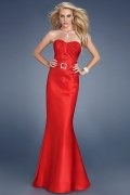 Portsmouth Strapless Red Sweetheart Empire Mermaid Gown