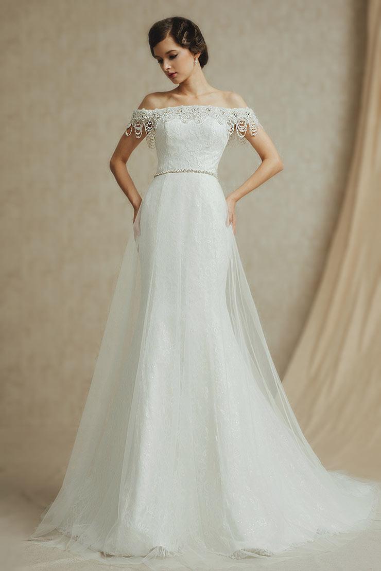 Korsetts unter dem Hochzeitskleid: halten Sie oder werfen