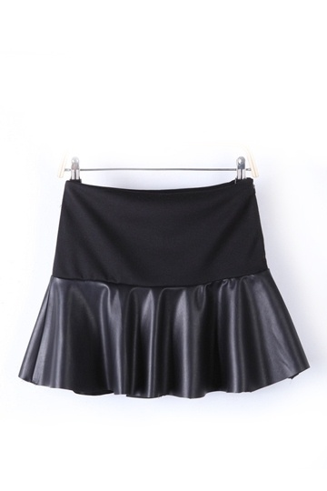 High Street Layered-look Mini Skirt