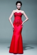 Mermaid Sweetheart Prom Formal dress with Luxury appliques