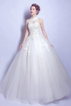 Magnifique robe mariée princesse 2017 effet goutte d'eau