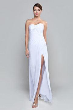 Robe immaculée pour invitée mariage