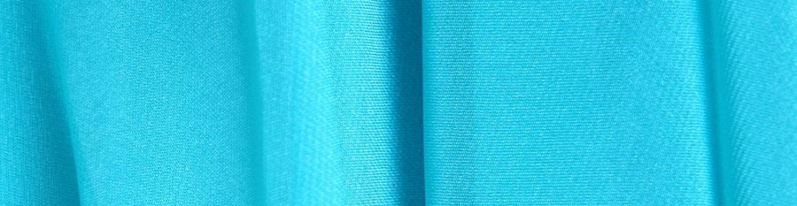 blue fabric details