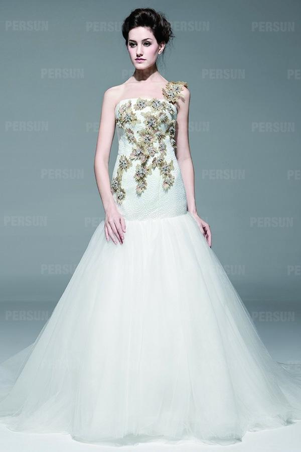 Robe de mariage de luxe à prix imbattable
