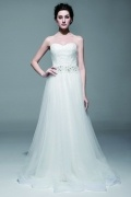 Immaculate Dream Sweatheart Lace wedding gown with Detachable Skirt