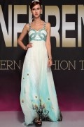Spaghetti Straps Beading Ruching Pattern A-line Long Magnificent Tencel Evening Dress