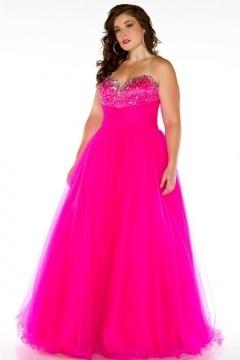 Robe princesse rose bonbon en tulle