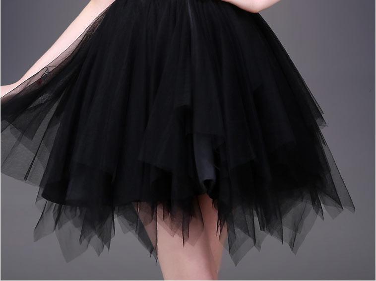 Petite robe bustier cœur jupe bouffante effet de fantaisie