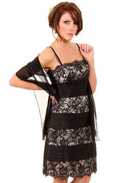 Market Harborough Spaghetti Straps Lace Little black dress
