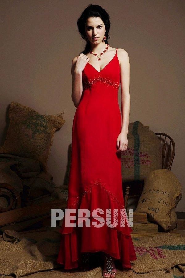 sexy v ausschnitt rmellos langes r sche rotes abendkleid aus chiffon phbg1048 105 79. Black Bedroom Furniture Sets. Home Design Ideas