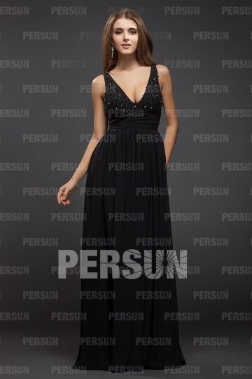 a-line chiffon formal dress