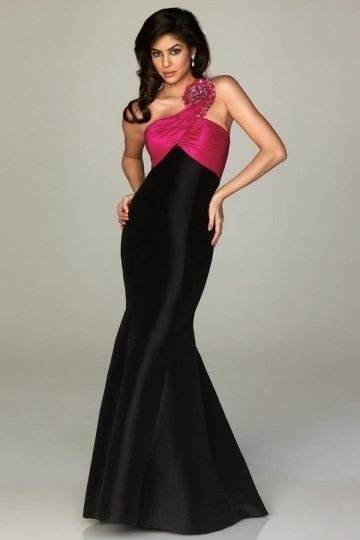 black one should prom dress