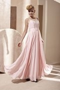Beading Sweeteart Chiffon A line Formal Dress