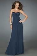 Sexy Ruching Sweetheart Chiffon Column Formal/Evening Dress