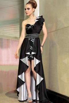 Stourbridge Stylish Architectural Black UK Prom Gown