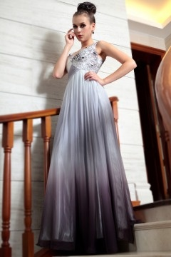 South Woodham Ferrers Applique Ombre Evening Gown
