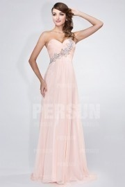 Ruching Bodice One shoulder Chic Prom Dress