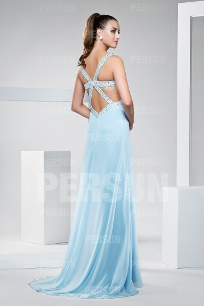 backless formal dress