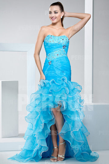 bright formal dress