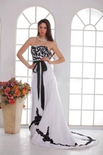 Sofisticado Vestido de Novia Hasta el Suelo Sin Tirantes Appliques Cola Capilla Corte A