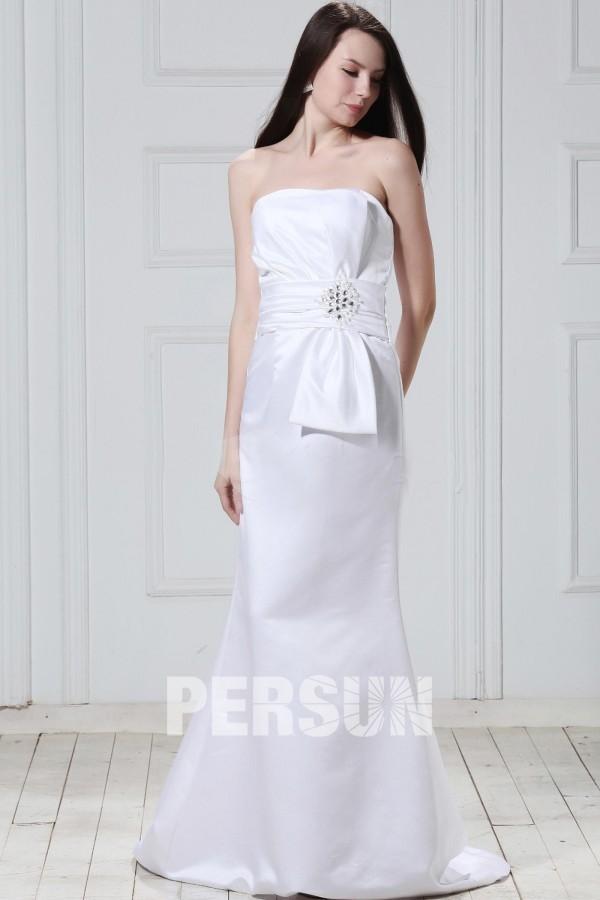 Robe de mariée Robe de mariée plage Robe de mariée simple sans ...