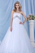 Vestido de princesa e de casamento Sem alça com saia transparente