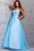 Maravilloso Vestido de Fiesta de baile Hasta el Suelo con Escote Corazón