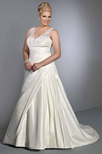 G nstig vintages a linie empire v ausschnitt brautkleider for Loue robe de mariage utah