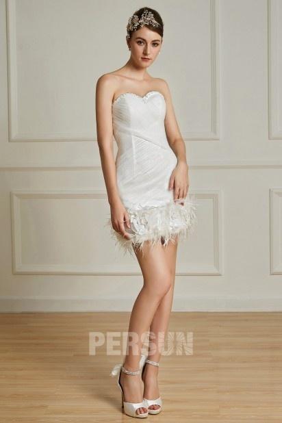 Dressesmall Ruching Sweetheart Mini Tulle Column Formal Dress